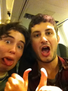 """""""We're on a plane...to Iceland!"""""""
