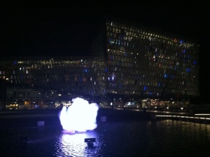 Harpa, one of Reykjavík's premiere large music venues and my home away from home for much of the trip.