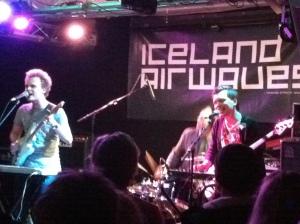 "Nolo performs ""Romeo"" at Reykjavík's Harlem, a sweaty upstairs rock club."