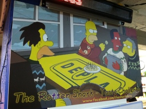The Rotten Shark, as seen in an episode of The Simpsons.