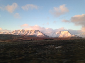 Taken from the bus on the Golden Circle Tour