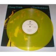 "Cheap Trick ""Kamikaze"" yellow vinyl."